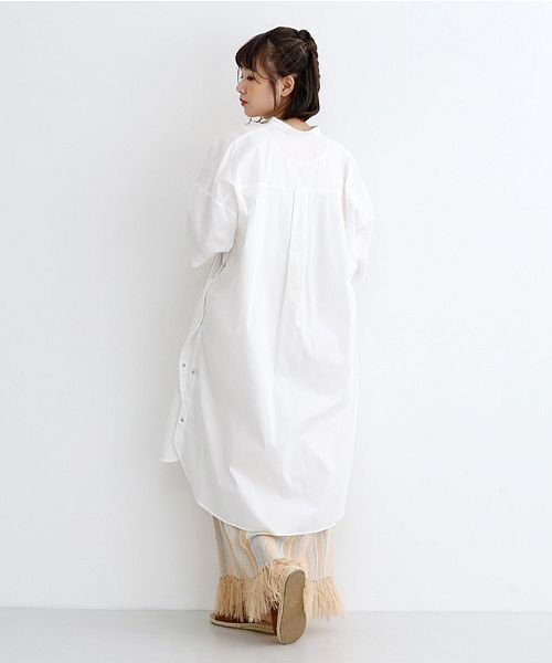 merlot(メルロー)/サイドスナップボタンシャツワンピース/00010012-939210203150_img15