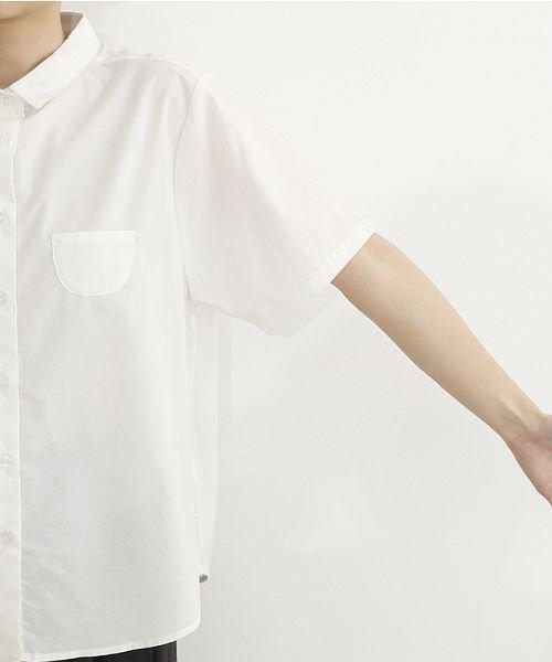 merlot(メルロー)/ミニポケット半袖シャツ/00010012-939220033059_img05