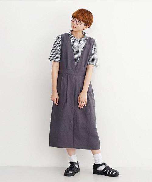 merlot(メルロー)/ミニポケット半袖シャツ/00010012-939220033059_img15