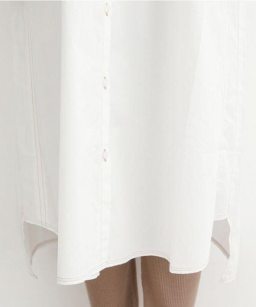 merlot(メルロー)/【IKYU】配色ステッチノーカラーシャツワンピース/00010012-939220143107_img06