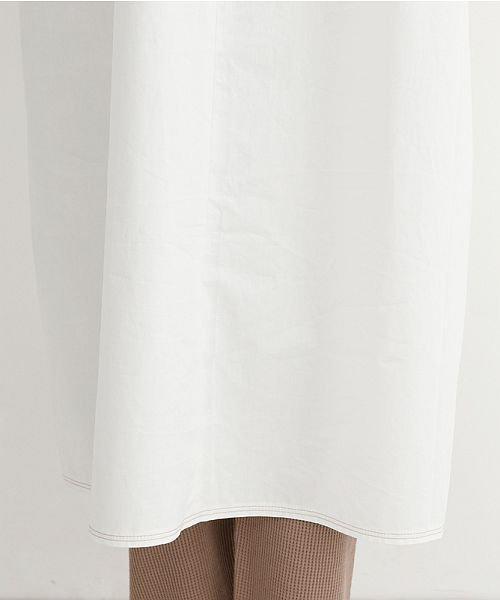merlot(メルロー)/【IKYU】配色ステッチノーカラーシャツワンピース/00010012-939220143107_img10
