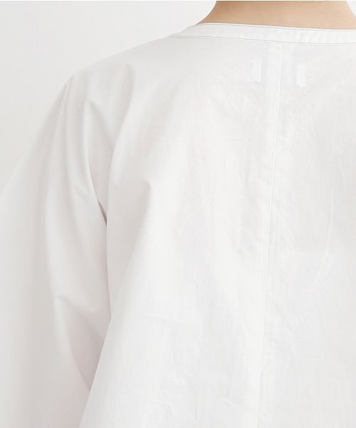 merlot(メルロー)/【IKYU】配色ステッチノーカラ―シャツ/00010012-939220143186_img09