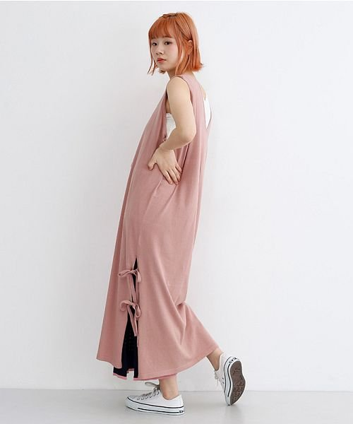 merlot(メルロー)/配色ライン透かし編みニットスカート/00010012-939230022917_img09
