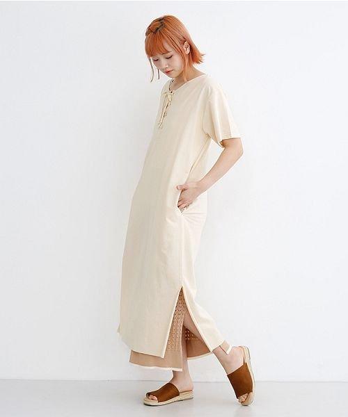 merlot(メルロー)/配色ライン透かし編みニットスカート/00010012-939230022917_img12