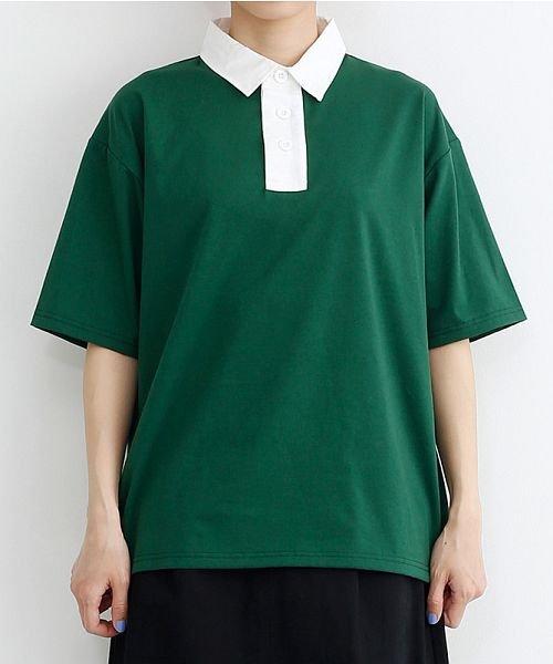 merlot(メルロー)/カラーラガーTシャツ/00010012-939230032927_img01