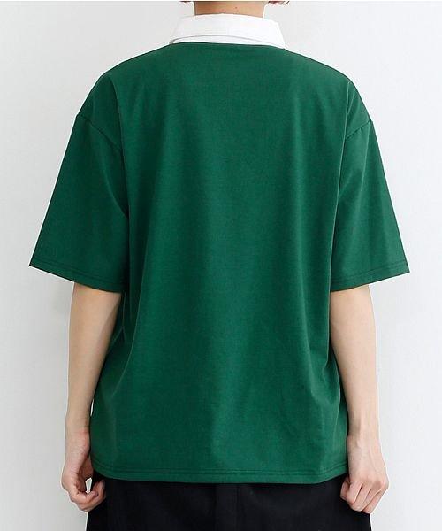 merlot(メルロー)/カラーラガーTシャツ/00010012-939230032927_img03