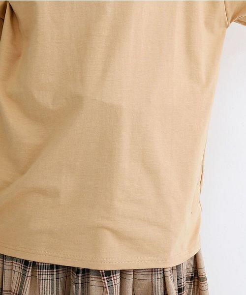 merlot(メルロー)/カラーラガーTシャツ/00010012-939230032927_img06