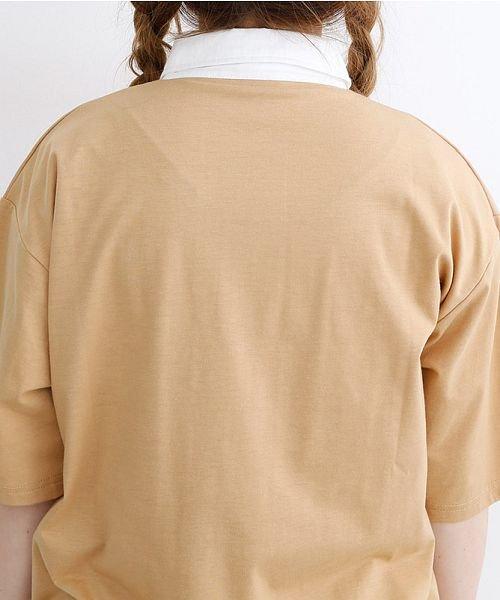 merlot(メルロー)/カラーラガーTシャツ/00010012-939230032927_img07