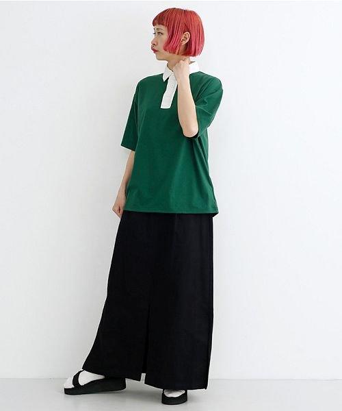 merlot(メルロー)/カラーラガーTシャツ/00010012-939230032927_img09