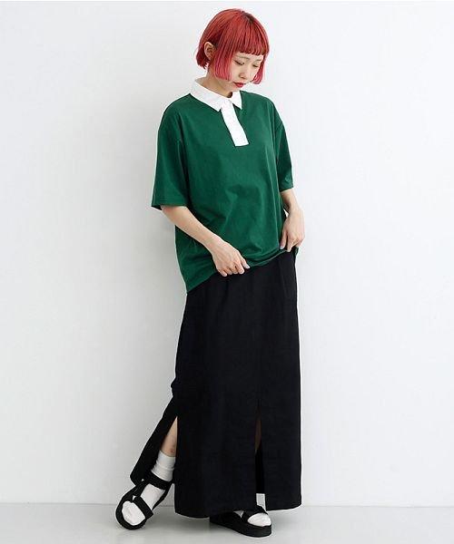 merlot(メルロー)/カラーラガーTシャツ/00010012-939230032927_img10