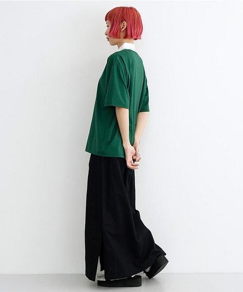 merlot(メルロー)/カラーラガーTシャツ/00010012-939230032927_img11