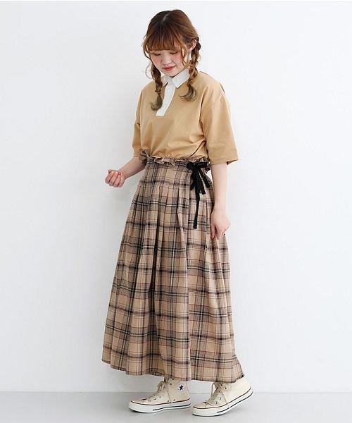 merlot(メルロー)/カラーラガーTシャツ/00010012-939230032927_img14