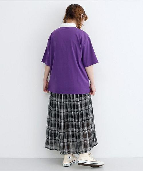 merlot(メルロー)/カラーラガーTシャツ/00010012-939230032927_img17