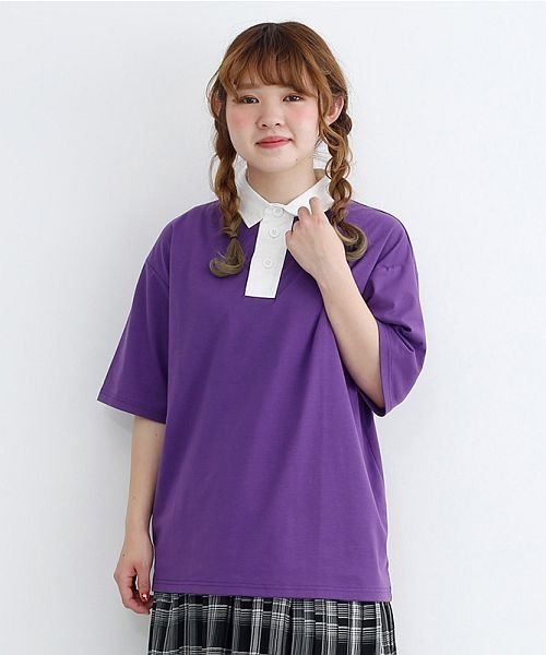 merlot(メルロー)/カラーラガーTシャツ/00010012-939230032927_img18