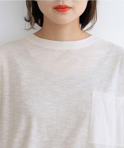 merlot(メルロー)/ビッグシルエットラウンドヘムTシャツ/00010012-939230033196_img04