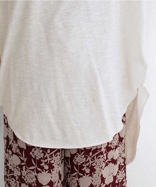 merlot(メルロー)/ビッグシルエットラウンドヘムTシャツ/00010012-939230033196_img06