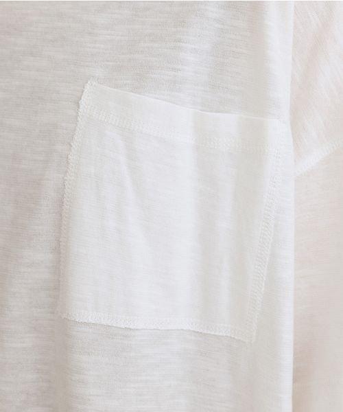 merlot(メルロー)/ビッグシルエットラウンドヘムTシャツ/00010012-939230033196_img07
