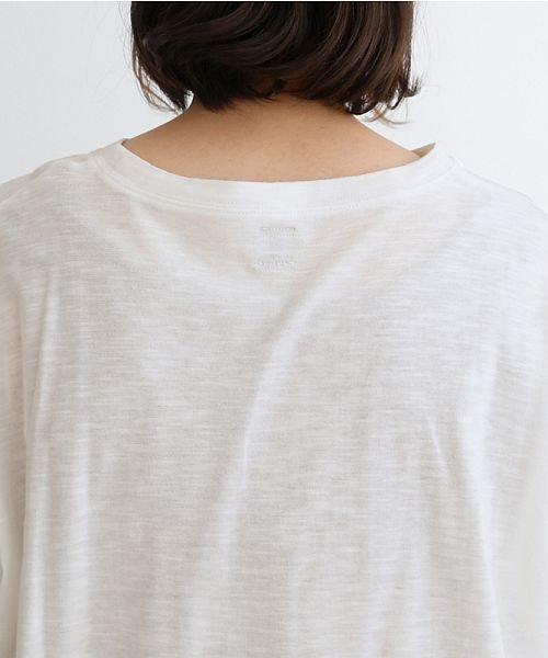 merlot(メルロー)/ビッグシルエットラウンドヘムTシャツ/00010012-939230033196_img09