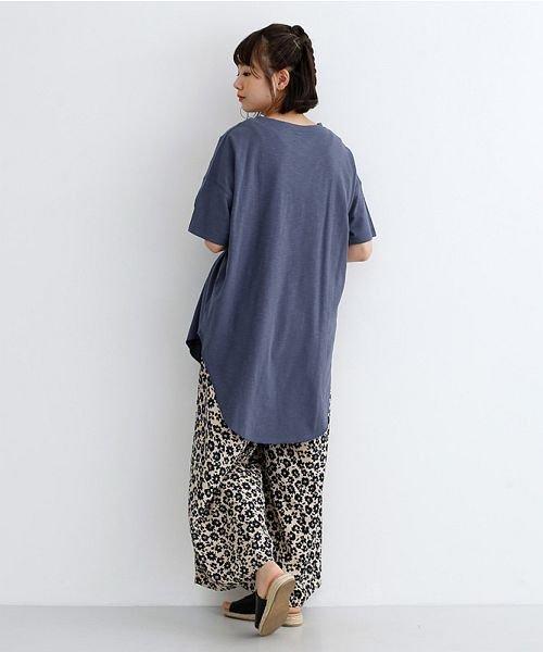 merlot(メルロー)/ビッグシルエットラウンドヘムTシャツ/00010012-939230033196_img13