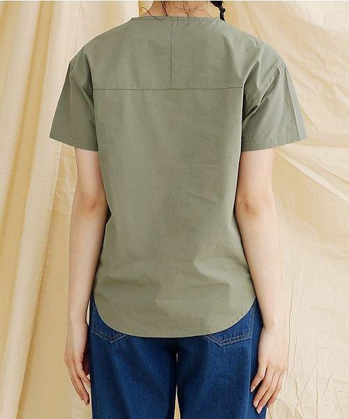 merlot(メルロー)/【IKYU】アシンメトリーボタンシャツ/00010012-939230062994_img03