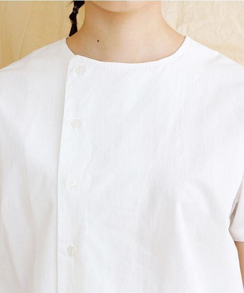 merlot(メルロー)/【IKYU】アシンメトリーボタンシャツ/00010012-939230062994_img04