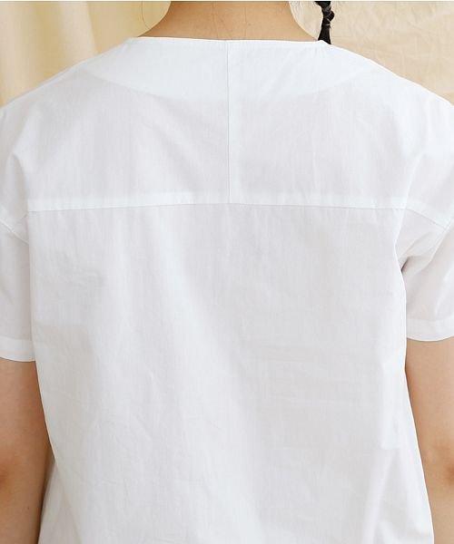 merlot(メルロー)/【IKYU】アシンメトリーボタンシャツ/00010012-939230062994_img07