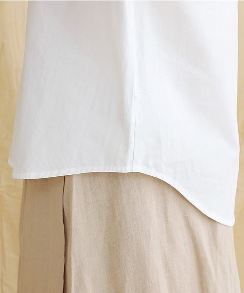 merlot(メルロー)/【IKYU】アシンメトリーボタンシャツ/00010012-939230062994_img09
