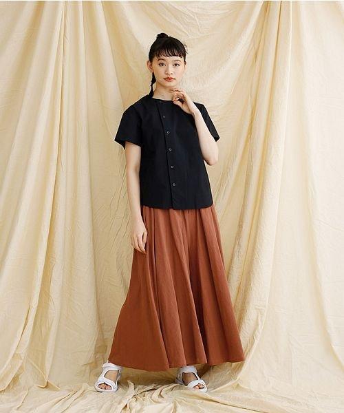 merlot(メルロー)/【IKYU】アシンメトリーボタンシャツ/00010012-939230062994_img10