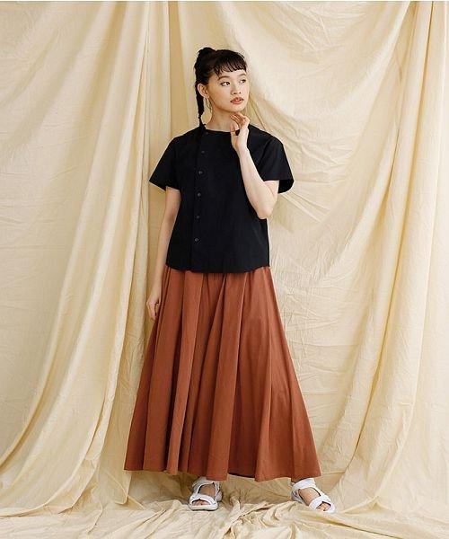 merlot(メルロー)/【IKYU】アシンメトリーボタンシャツ/00010012-939230062994_img11