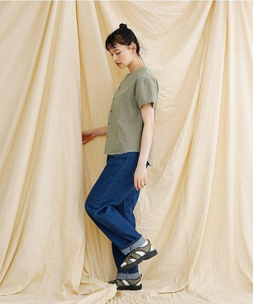 merlot(メルロー)/【IKYU】アシンメトリーボタンシャツ/00010012-939230062994_img12
