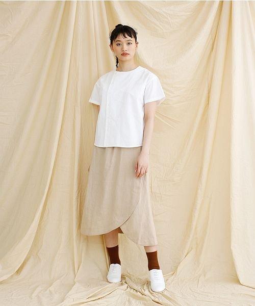 merlot(メルロー)/【IKYU】アシンメトリーボタンシャツ/00010012-939230062994_img13