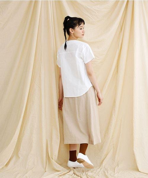 merlot(メルロー)/【IKYU】アシンメトリーボタンシャツ/00010012-939230062994_img14