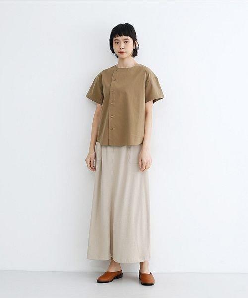 merlot(メルロー)/【IKYU】アシンメトリーボタンシャツ/00010012-939230062994_img15