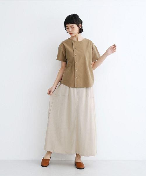 merlot(メルロー)/【IKYU】アシンメトリーボタンシャツ/00010012-939230062994_img16