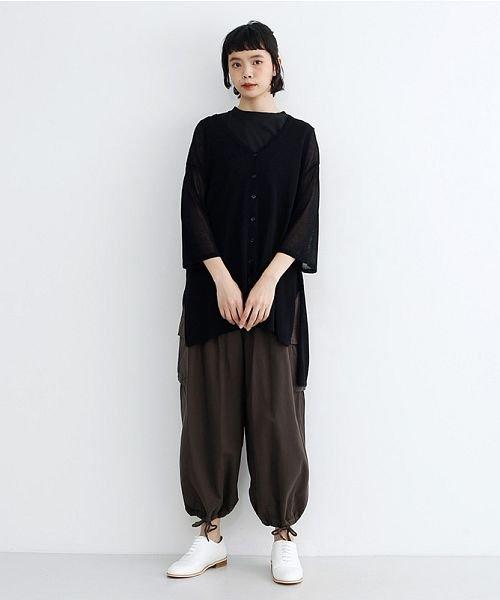 merlot(メルロー)/【IKYU】ワイドシルエットシアーカーディガン/00010012-939230123018_img07
