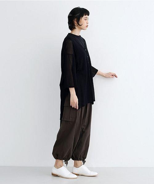 merlot(メルロー)/【IKYU】ワイドシルエットシアーカーディガン/00010012-939230123018_img09