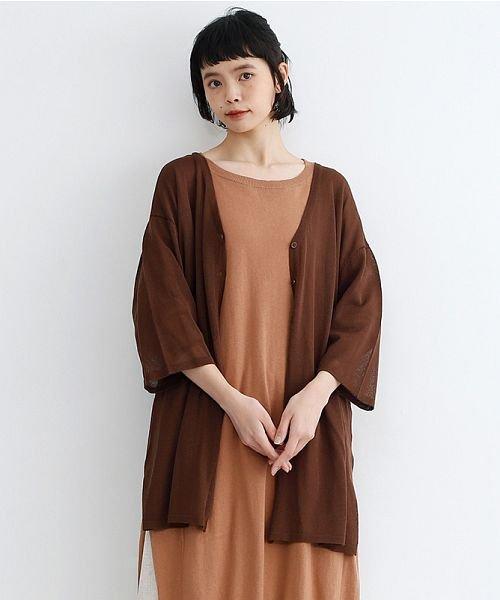 merlot(メルロー)/【IKYU】ワイドシルエットシアーカーディガン/00010012-939230123018_img16