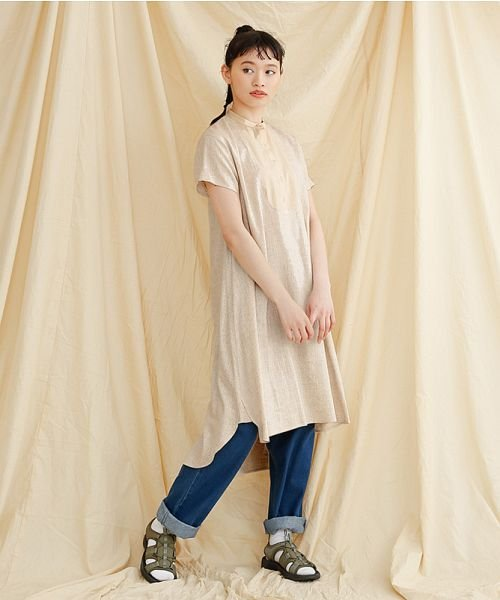 merlot(メルロー)/【IKYU】フロントヨーク切替ワンピース/00010012-939230143014_img16