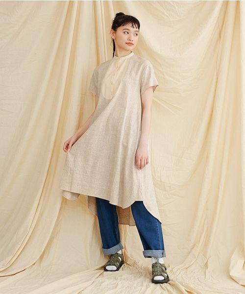 merlot(メルロー)/【IKYU】フロントヨーク切替ワンピース/00010012-939230143014_img17