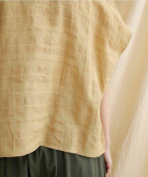 merlot(メルロー)/【IKYU】オーバーシルエットチェック織り柄シャツ/00010012-939230143077_img08