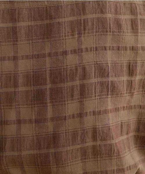 merlot(メルロー)/【IKYU】オーバーシルエットチェック織り柄シャツ/00010012-939230143077_img11