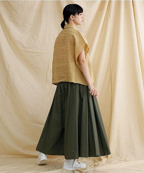 merlot(メルロー)/【IKYU】オーバーシルエットチェック織り柄シャツ/00010012-939230143077_img14