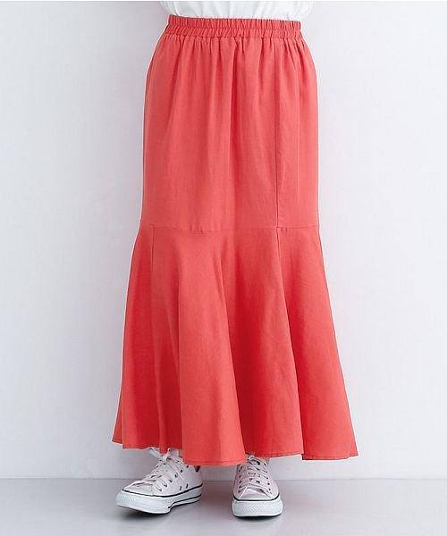 merlot(メルロー)/レーヨンリネンマーメイドスカート/00010012-939230152911_img01