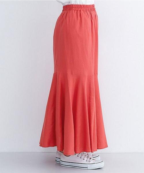 merlot(メルロー)/レーヨンリネンマーメイドスカート/00010012-939230152911_img02