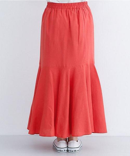 merlot(メルロー)/レーヨンリネンマーメイドスカート/00010012-939230152911_img03
