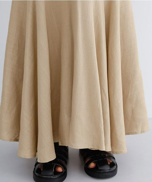merlot(メルロー)/レーヨンリネンマーメイドスカート/00010012-939230152911_img05