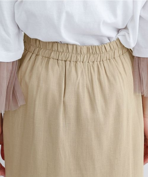 merlot(メルロー)/レーヨンリネンマーメイドスカート/00010012-939230152911_img07