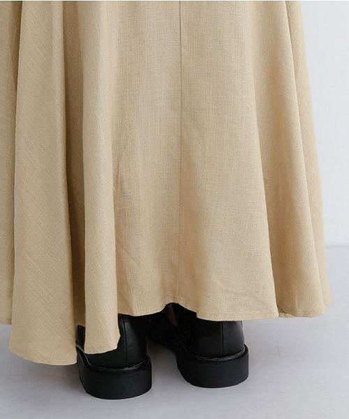 merlot(メルロー)/レーヨンリネンマーメイドスカート/00010012-939230152911_img08