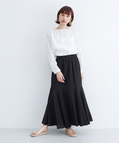 merlot(メルロー)/レーヨンリネンマーメイドスカート/00010012-939230152911_img10