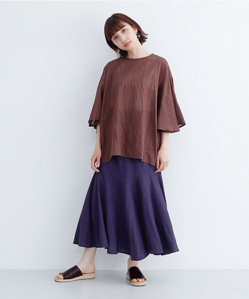 merlot(メルロー)/レーヨンリネンマーメイドスカート/00010012-939230152911_img12